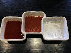 焼肉鈴特選黒毛和牛上セットのタレ