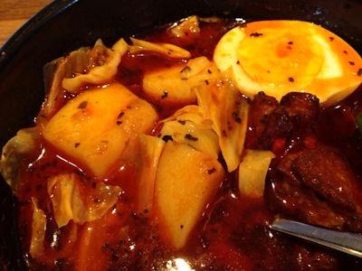 CoCo壱番屋スープで食べるローストチキンと野菜のカレー