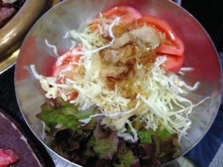 焼肉鈴トマトサラダ