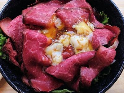 くら寿司ローストビーフ丼