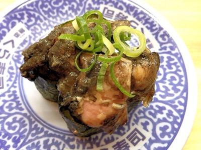 くら寿司鶏炭火焼