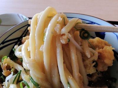 丸亀製麺タル鶏天ぶっかけ(冷)