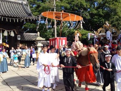 高砂神社秋祭り2016神幸祭