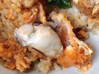 なか卯牡蠣(かき)とじ丼