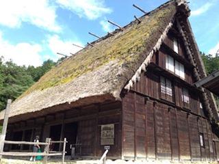 飛騨高山市内観光飛騨の里旧若山家