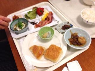 飛騨高山温泉ひだホテルプラザ朝食バイキング