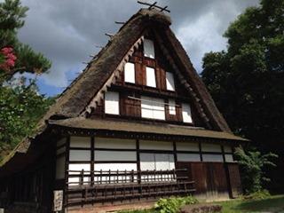 飛騨高山市内観光飛騨の里旧西岡家