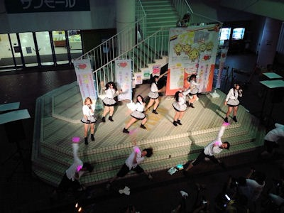 たかさご万灯祭2016アイドル!踊ってみた!ヲタ芸!?
