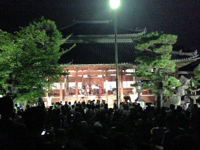 たかさご万灯祭2016十輪寺