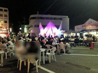 たかさご万灯祭2016駅前広場