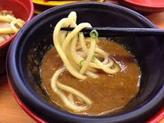 スシロー鯖系カレーつけ麺