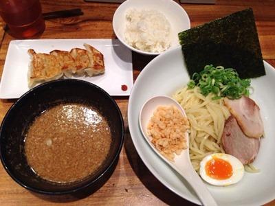 博多一風堂東京太つけ麺とランチAセット