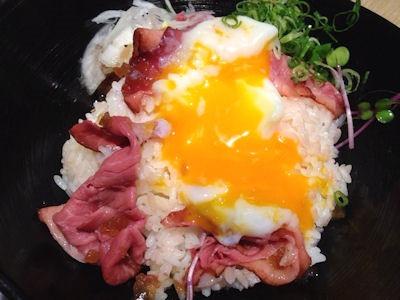 和食さとローストビーフ丼
