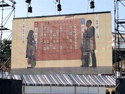 人間将棋 姫路の陣2016姫路城三の丸広場