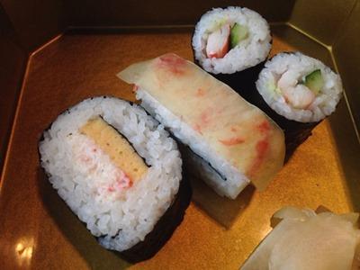 かに道楽遥花かに寿司