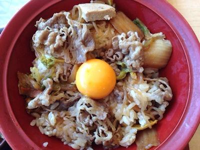 すき家牛すき焼き丼(並盛)マヨポテセット