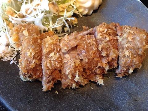 北海道ダイニング小樽食堂塩ビフカツ定食