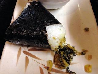 丸亀製麺高菜おむすび
