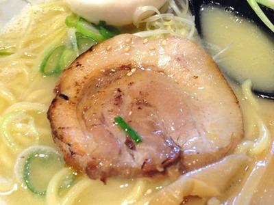 横浜ラーメン一心家鶏白湯ラーメン