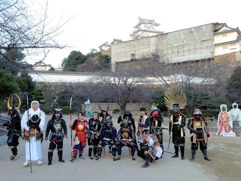 姫路城文化遺産登録記念日姫路城