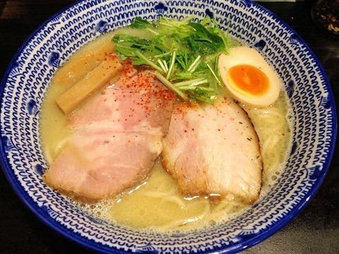 麺昌まさ鶏豚白湯(塩)