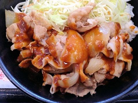 吉野家スパイシーカレー豚丼