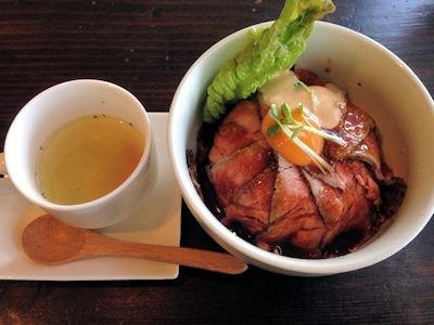 淡路島カレーローストビーフ丼