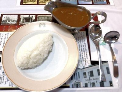 函館レストラン五島軒イギリス風カレー