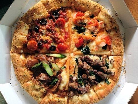 新年プチパーティードミノ・ピザチーズンロール シェフのおもてなしクワトロ