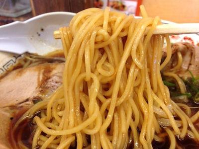 自家製麺醤油ラーメン丸醤屋丸醤ブラック