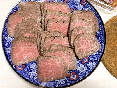 新年プチパーティー大福精肉店焼牛