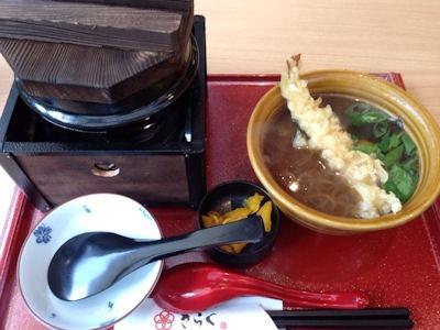釆なりうどんきらく牛釜飯ランチ