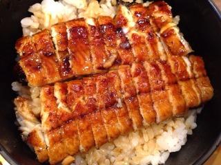 浜名湖鰻うな髙以前食べたひつまぶしミニ懐石鰻丼