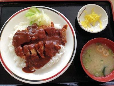 加古川総合庁舎食堂加古川名物カツめし