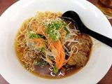 群ちゃん台湾牛肉麺の牛肉麺