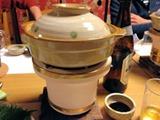 茶そば・穴子そらまめ穴子鍋