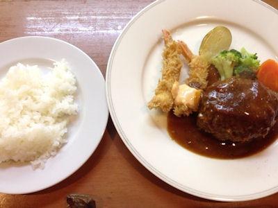 kitchenKATO自家製ハンバーグランチ(M)