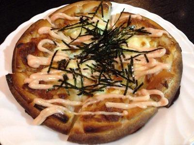 酒家山葵じゃが芋とおもちの明太子マヨネーズピッツァ