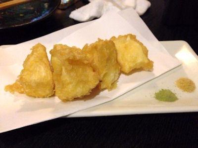酒家山葵カマンベールチーズの天ぷら