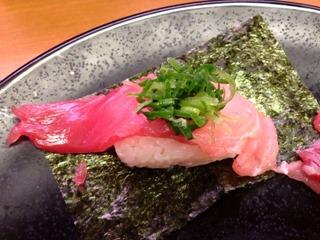 スシロー和歌山串本の生本鮪6貫盛り