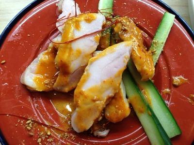 くら寿司四川風蒸し鶏