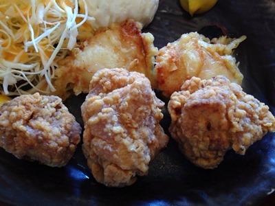 串焼処鶏膳唐揚げとり天定食