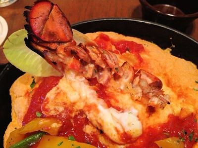 Muu Muu Diner Fine Hawaiian Cuisine オマール海老のスフレオムライス