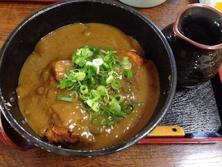 池田製麺所真心うどん米田店カツカレーうどん