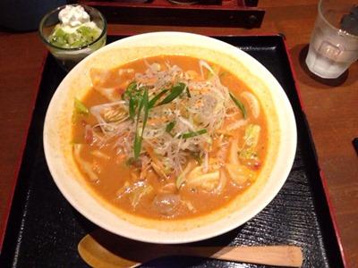 麺茶屋・玉家ランチ限定デザート付きセット