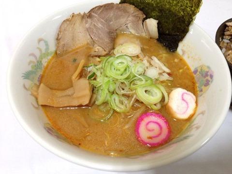 札幌麺屋サスケ元祖北海道さっぽろ定番濃厚みそラーメン