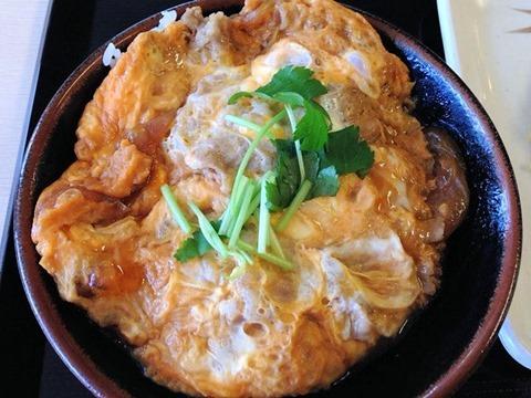 丸亀製麺牛とじ丼