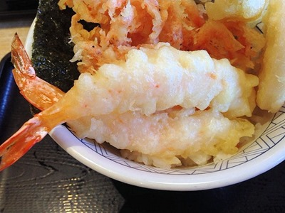 和食さと桜海老のかき揚げ天丼