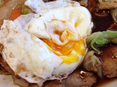 松屋肉野菜の鉄板焼き定食7