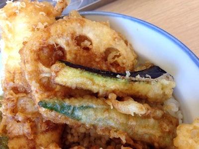 天丼・天ぷら本舗さん天真穴子と海老の夏天丼
